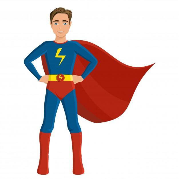626x626 Superhero Illustration Vectors, Photos And Psd Files Free Download