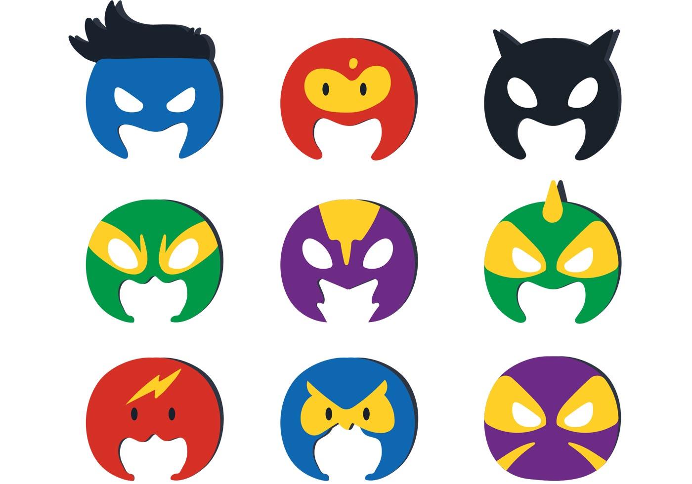 1400x980 Superhero Kid Vector Masks