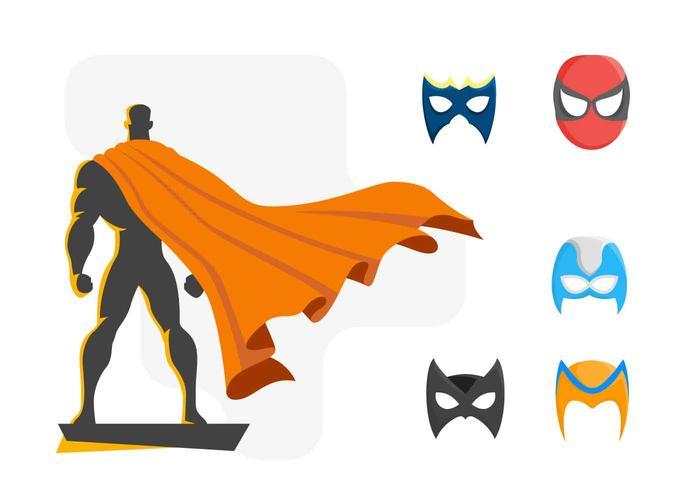 700x490 Free Powerful Super Heroes Vector