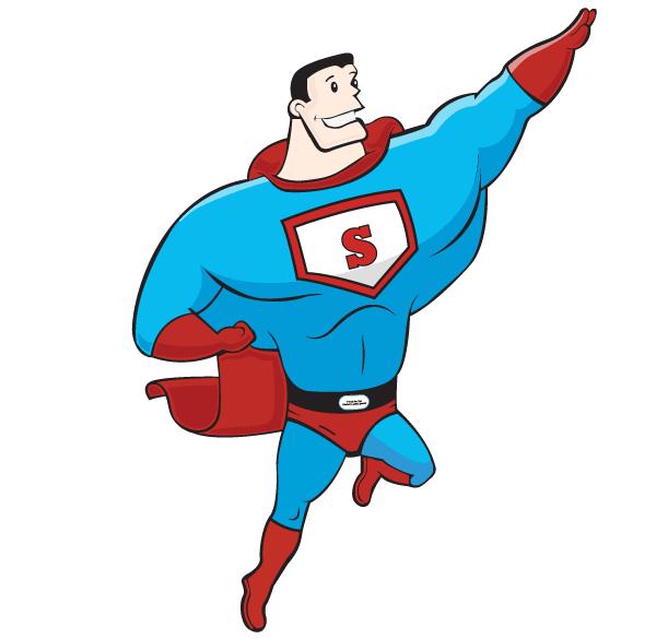 600x585 Free Superhero Vector Art 123freevectors