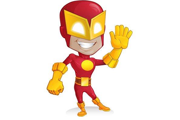 594x395 Free Superhero Vector Character Psd Files, Vectors Amp Graphics