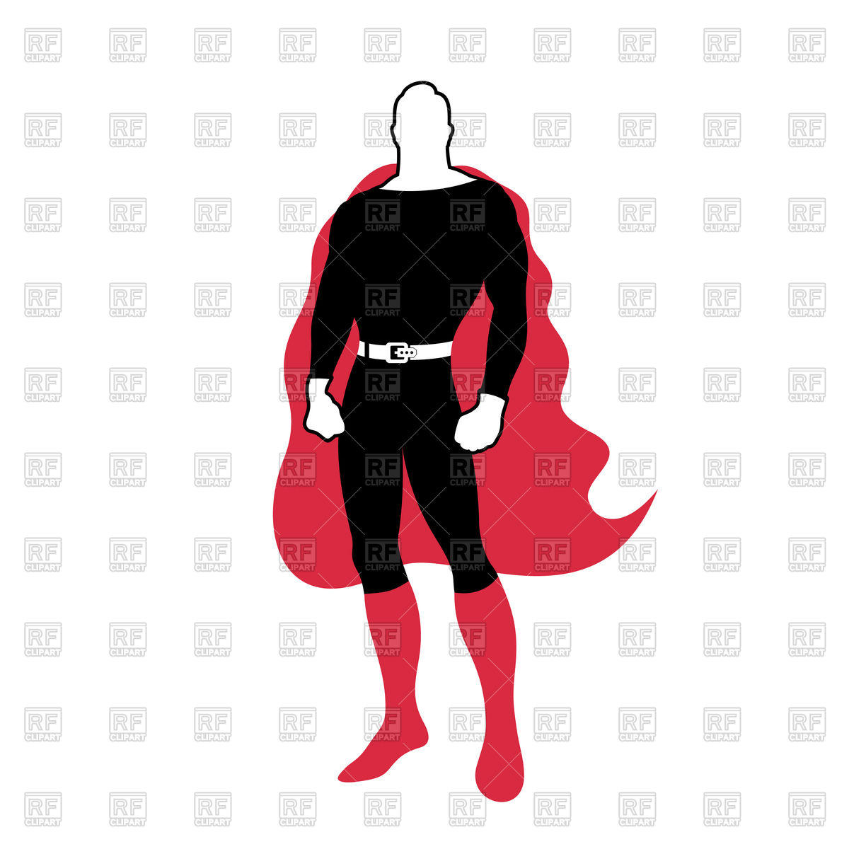 1200x1200 Super Hero Character Vector Image Vector Artwork Of People