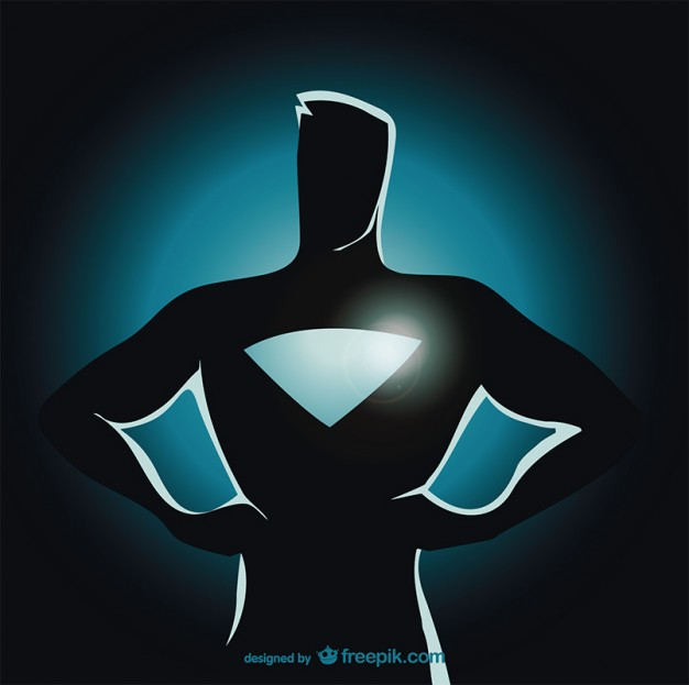 Superhero Vector Free