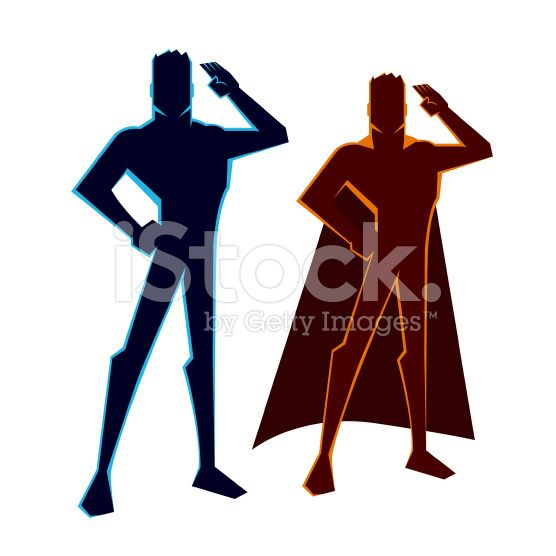556x556 Vector Illustration Of A Superhero Figure Salute Hpc Hopekids