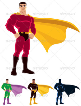 260x341 Download Superhero Vector Clipart Royalty Free Clip Art