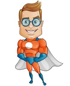 235x290 Free Superhero Vector Character Designed With Perfection In Every