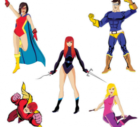 280x255 Superheroes Search Results Free Vector Graphics And Vector Art