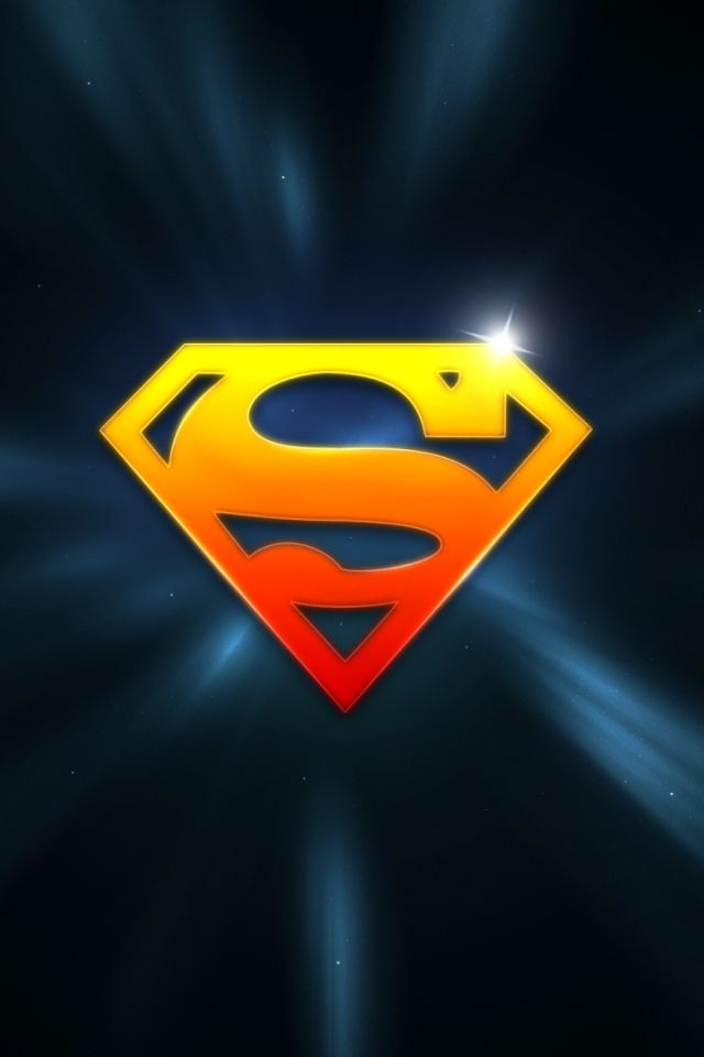 640x960 Superman Logo Vector Free Hd Wallpapers For Iphone Is A Fantastic