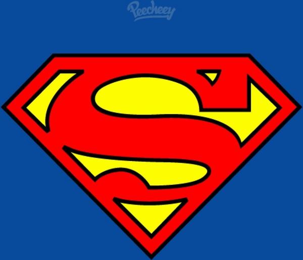 600x515 Superman Flat Logo Free Vector In Adobe Illustrator Ai ( .ai