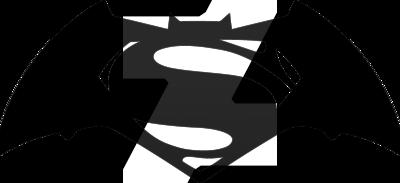 400x183 Batman V Superman Dawn Of Justice Logo Vector By Irvansp