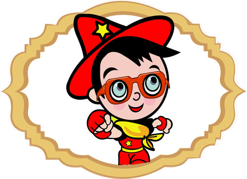 500x362 Little Superman Wearing Glasses Vector Free Download