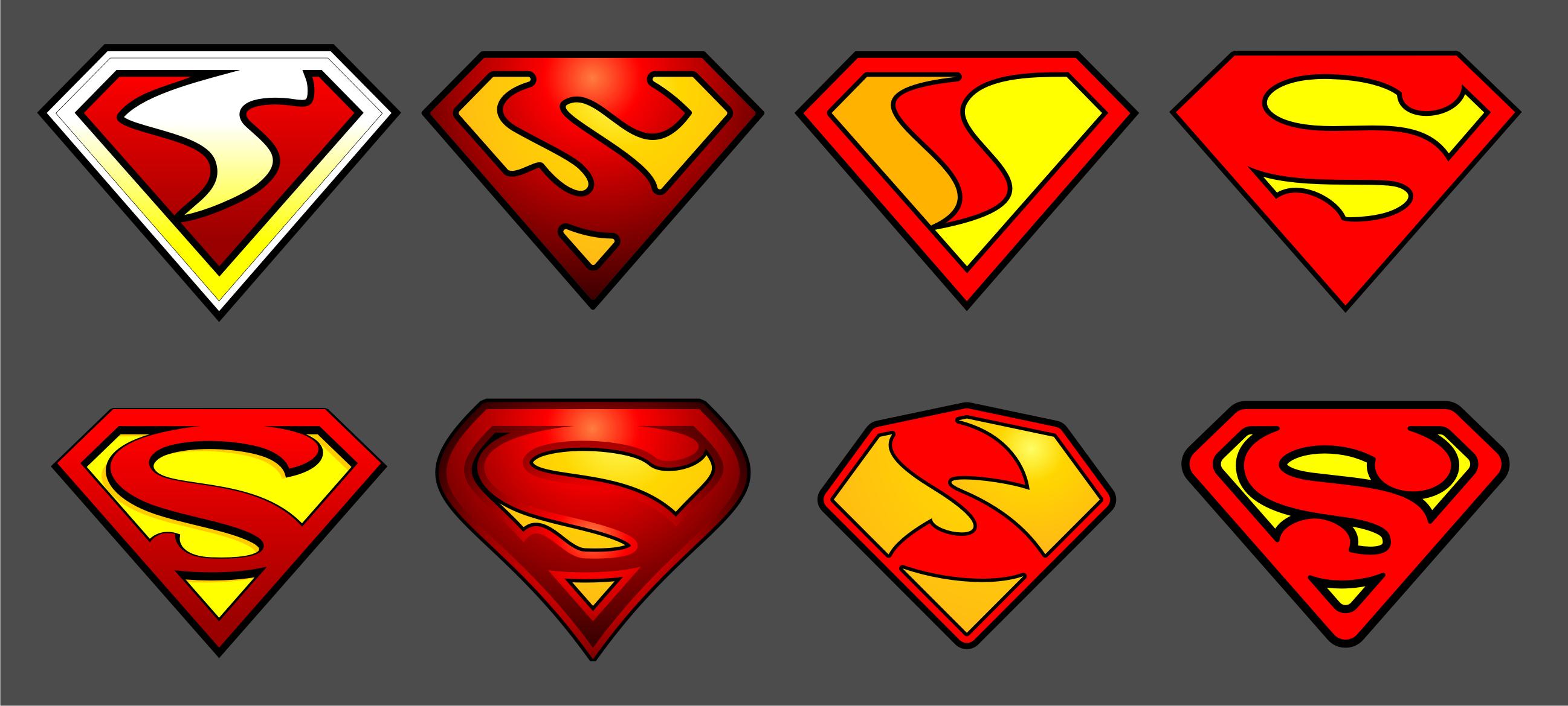 2595x1170 Superman Logos, Superman Fan Art