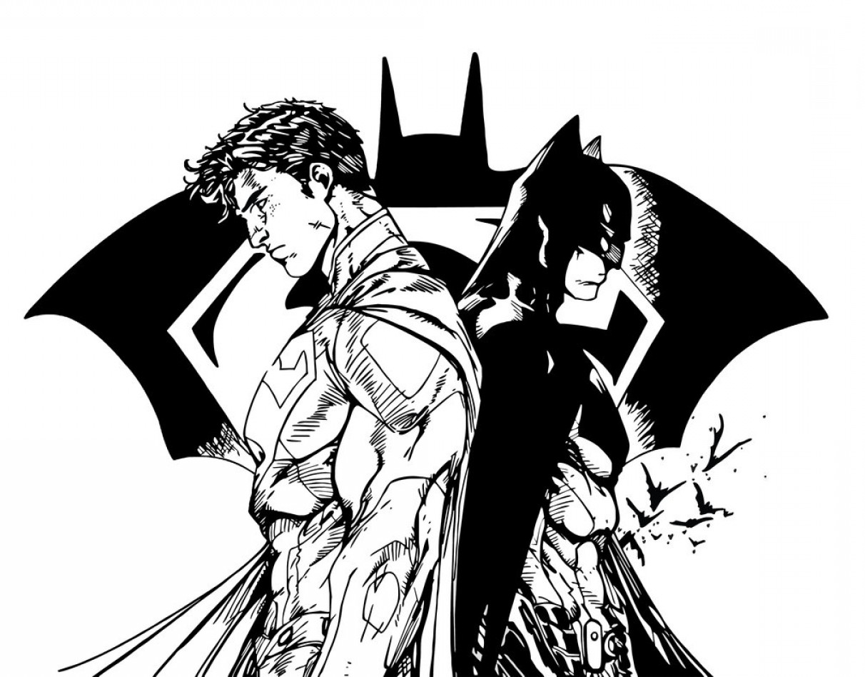1212x948 Batman Vs Superman V Stencil Vector Art Lazttweet