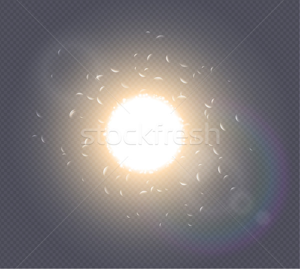 600x537 Abstract White Explosion Spark Space Modern Design. Glow Star