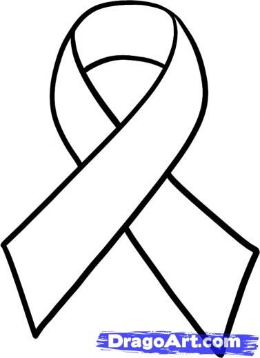 Support Ribbon Vector
