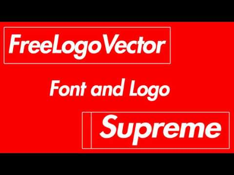 480x360 Supreme Logo Vector And Font Download