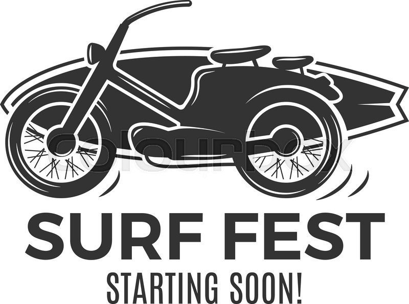 800x595 Vintage Surfing Tee Design. Retro Surf Fest Tshirt Graphics And