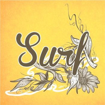 350x350 Floral Surf Vector Art Yougraph