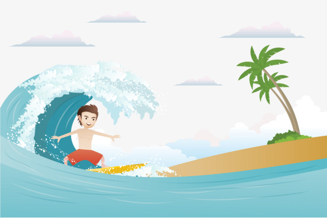 650x434 Surf Vector, Png Free Download, Vector, Hd Clips Png And Vector