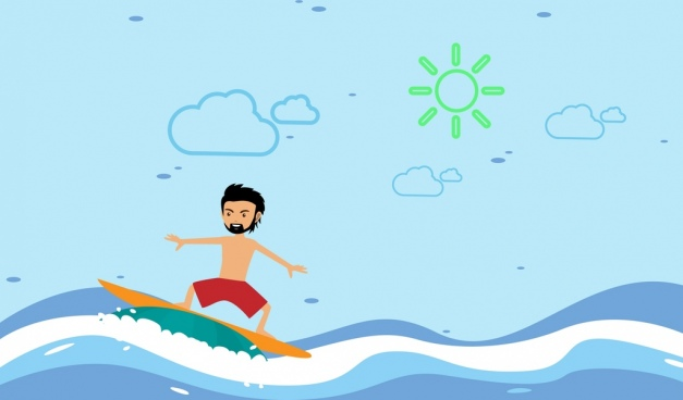 627x368 Surf Free Vector Download (167 Free Vector) For Commercial Use