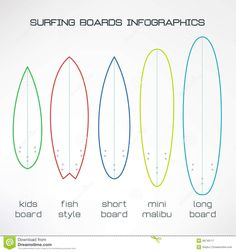 236x252 Surfboard Outline Templates