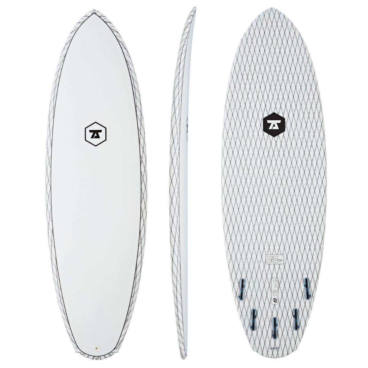 1200x1200 7s Double Down Carbon Vector Surfboard Surfers