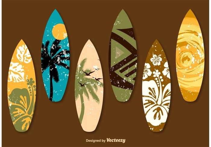 700x490 Surfboard Free Vector Art