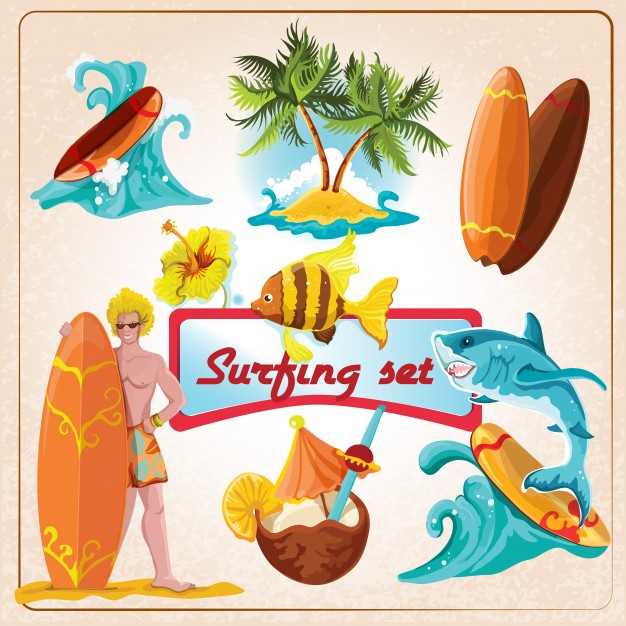 626x626 Surfboard Vector Vectors, Photos And Psd Files Free Download