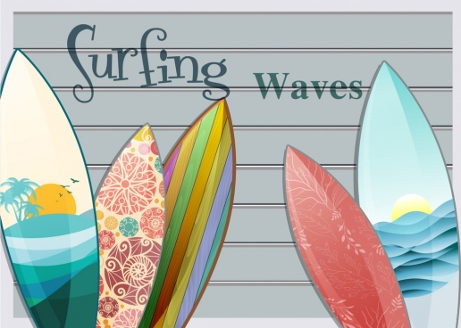 516x368 Surfboard Graphics Free Vector Download (60 Free Vector) For