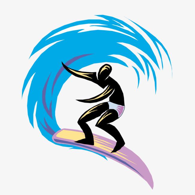 650x651 Surfista No Mar Vector Os Atletas Mar Png E Vetor Para Download