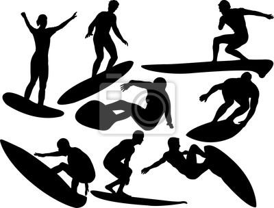 400x304 Surfista Vector Pinturas Para La Pared Cuadros Tabla