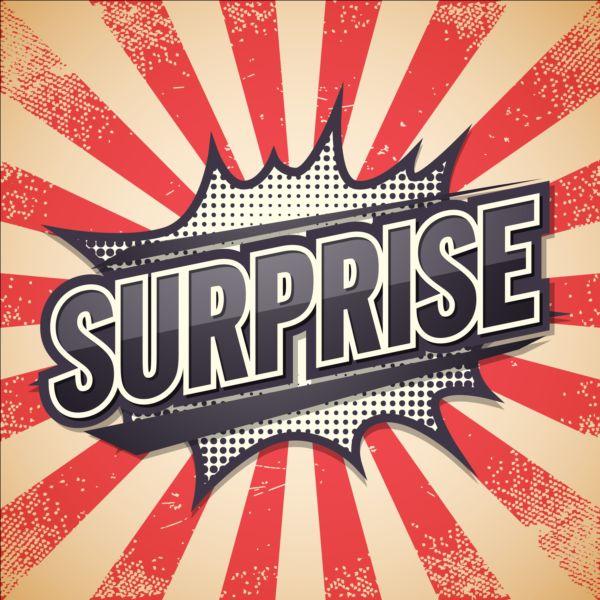 600x600 Surprise Comic Speech Bubble Vector Free Download