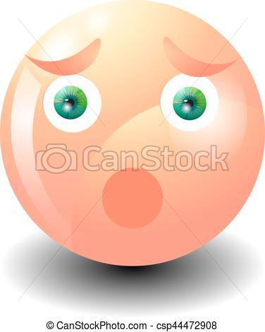 376x470 Grimacing Emoticon Surprise. Yellow Emoji Surprised. Emoticon