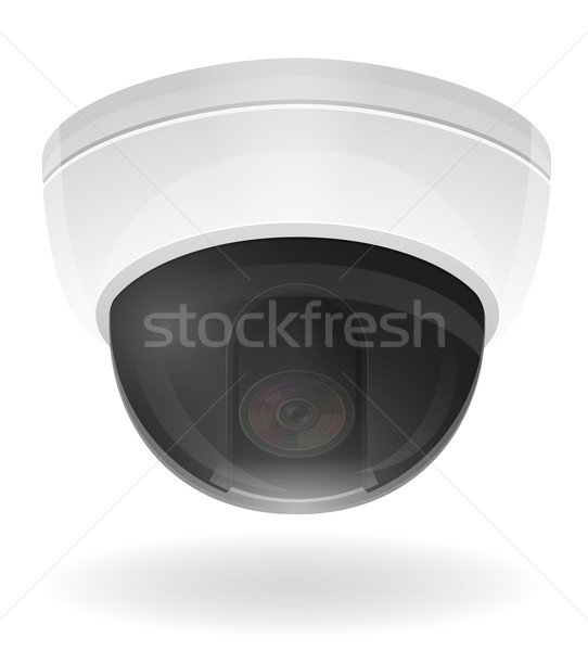 542x600 Security Camera Icon Stock Vectors, Illustrations And Cliparts