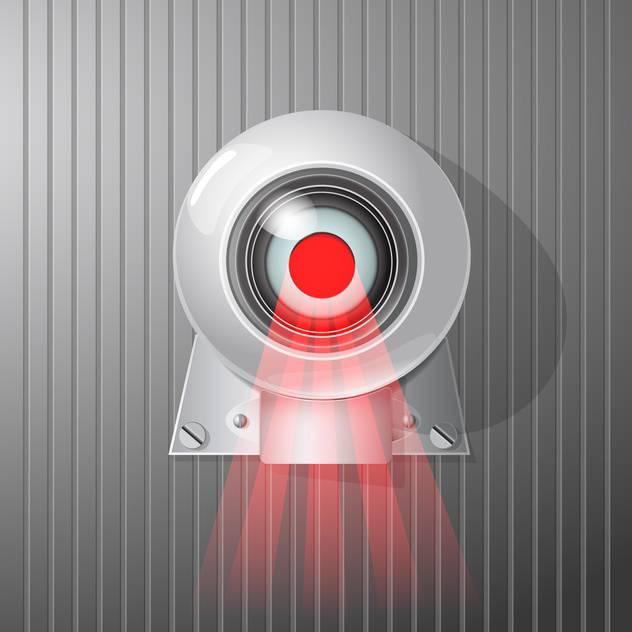 632x632 Surveillance Camera Vector Illustration Free Vector Download