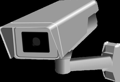 500x341 Cctv Fixed Camera Vector Image Public Domain Vectors