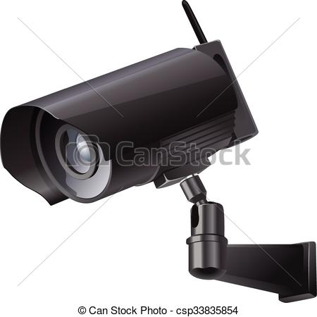 450x450 Video Surveillance Sign. Cctv Camera. Surveillance Camera Viewed