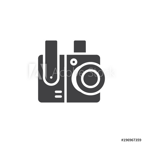 500x500 Cctv, Surveillance Camera Vector Icon. Filled Flat Sign For Mobile