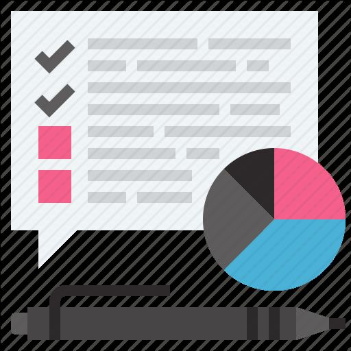 Survey Icon Vector