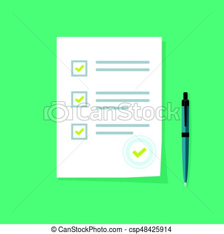 450x470 Survey Form Icon Vector, Good Exam Results, Quiz, Interview