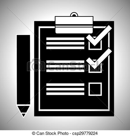 450x470 Survey Icon Design. Survey Digital Design, Vector... Vector