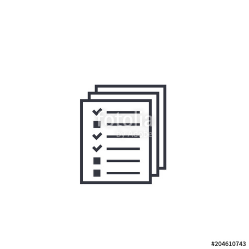 500x500 Tests, Survey Icon Stock Image And Royalty Free Vector Files On