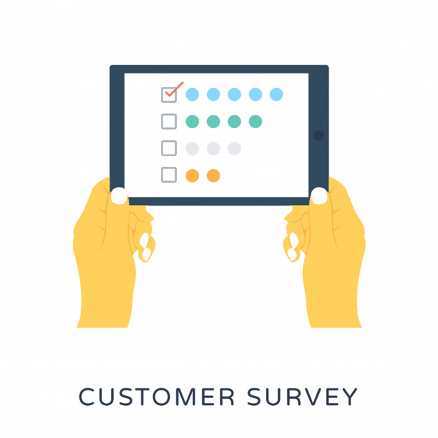 626x626 Customer Survey Flat Vector Icon Vector Premium Download