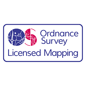 280x280 Ordnance Survey Licensed Mapping Vector Logo Free Download