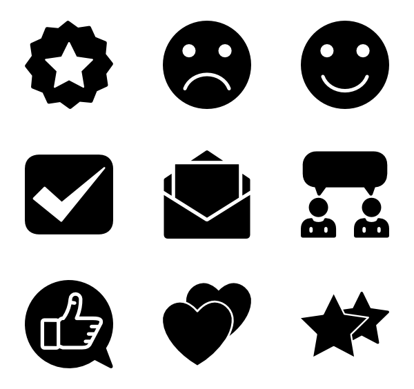 600x564 Survey Icons