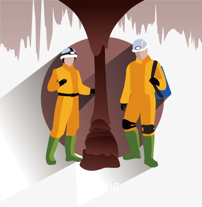 650x667 Vector Mining Personnel Survey, Vector, Decoration, Survey Png And