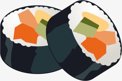 468x312 Crude Sushi Roll Japanese Sashimi, Crude Volumes, Kimbap, Sushi