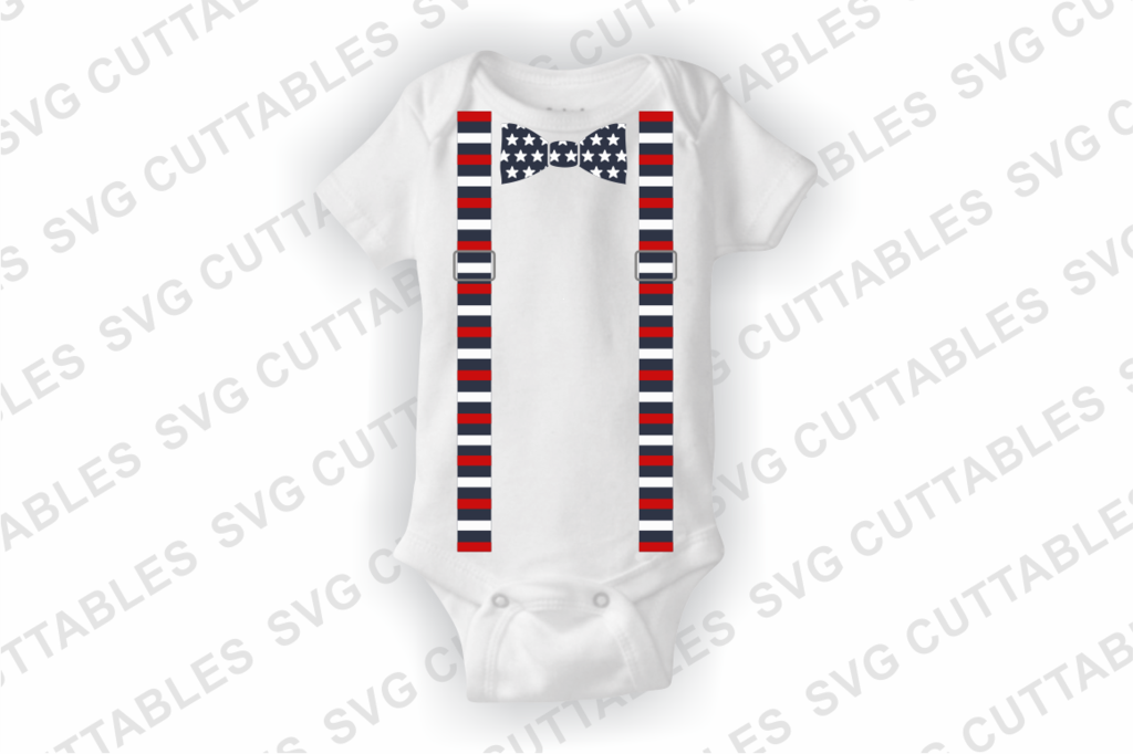 1024x682 Fourth Of July Tie, Bow Tie, Suspenders, July 4th Vector
