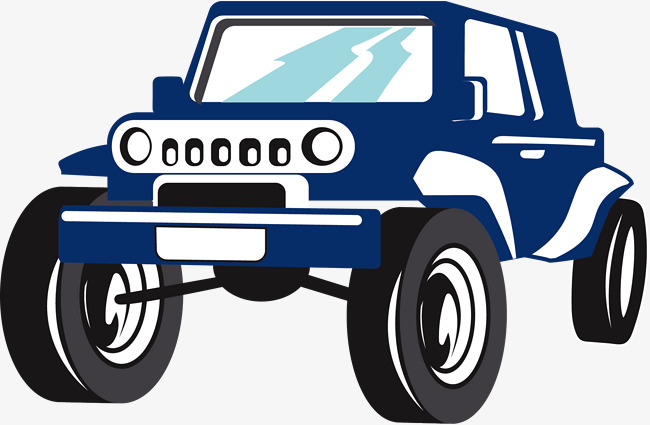 650x425 Blue Cartoon Suv, Blue Vector, Cartoon Vector, Vehicle Png And