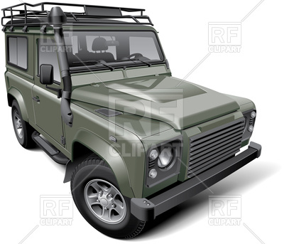 400x343 British Off Road Utility Vehicle